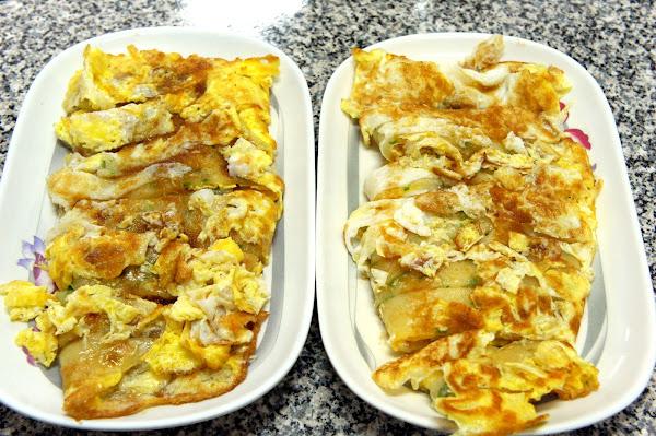 中福早餐店-幸福滿分古早味雙蛋蛋餅