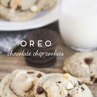 Oreo Chocolate Chip Cookies.