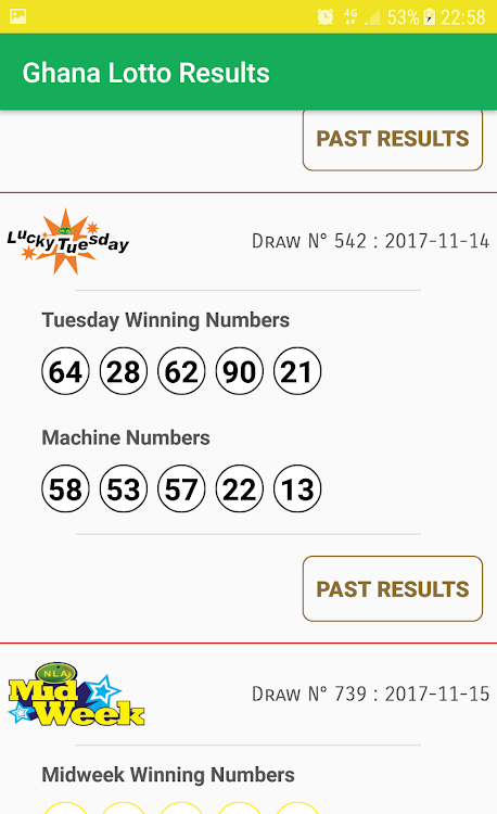 Ghana Lotto Results – (Android Apps) — AppAgg