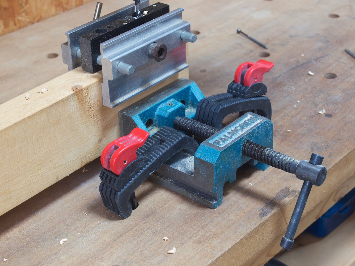 "PALMGREN 4"" DRILL PRESS VISE"