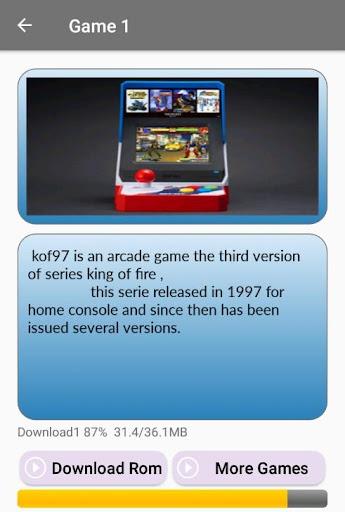 Arcade games : King of emulators 1.0 screenshots 20