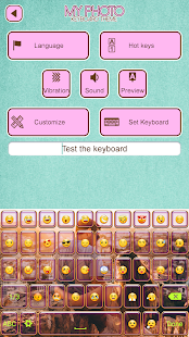 My Photo Keyboard Theme - náhled