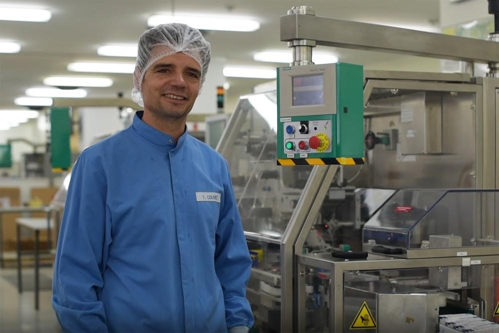 Thierry Couvet, Technicien de maintenance industrielle