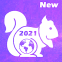 New Browser 2021 - UCM Fast & Secure Turbo Browser icon