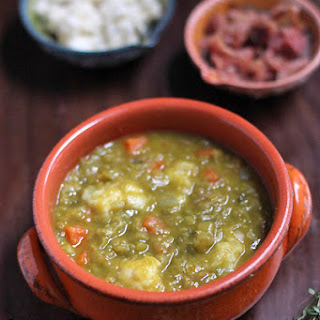 Smoky Split Pea soup.