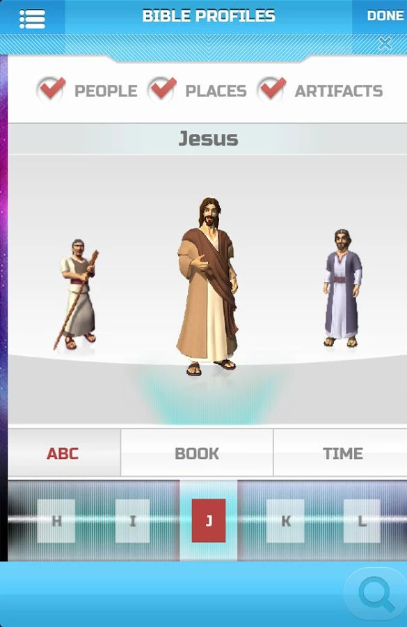Superbook Bible, Video & Games- screenshot