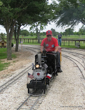 Photo: Bill Laird on Texas State Railroad 7.  HALS-SLWS 2009-0522
