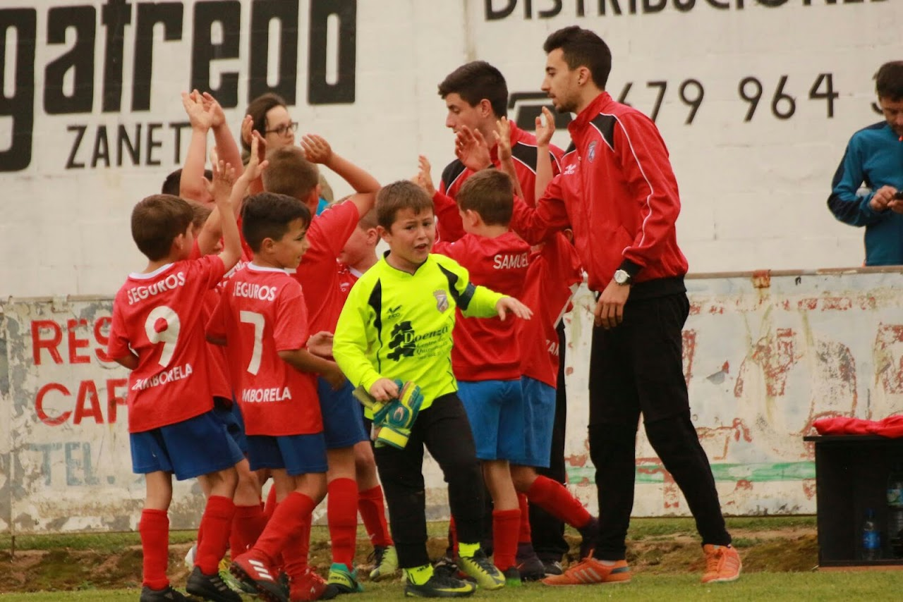 ADR Numancia de Ares. Prebenjamines 2016-2017. Torneo de Meirás