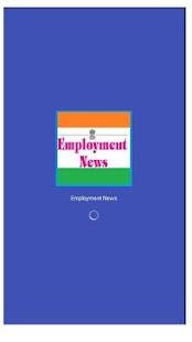 Employment News - náhled