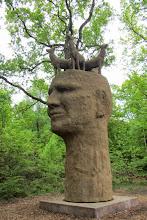 Photo: La tête d'un homme très sincère (cinq cerfs) . Merci Claudine pour le jeu de mots