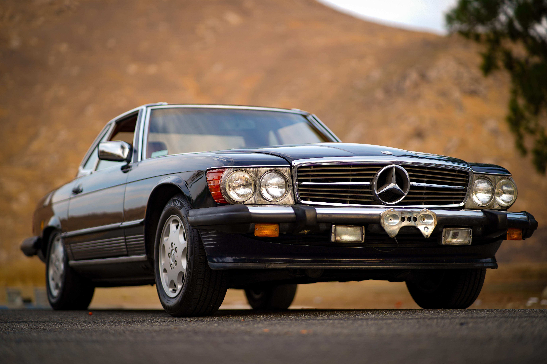 Mercedes Benz 560sl Hire Riverside