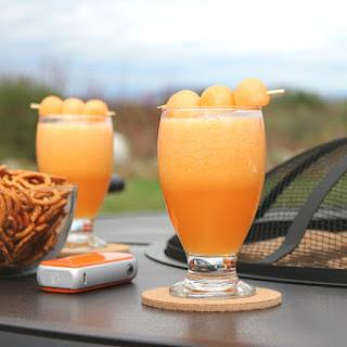 Cantaloupe Melon Drink.