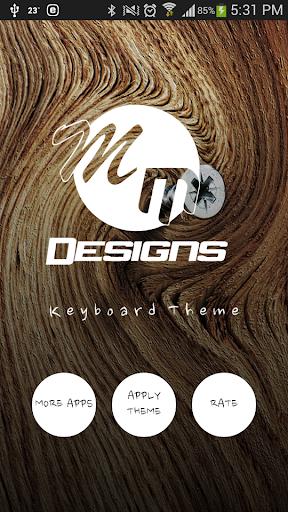 Wood GO Keyboard Theme