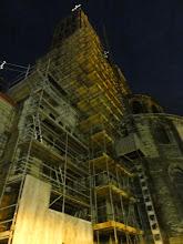 Photo: Nog meer restauratiewerk in Doornik