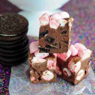 Mint Oreo Marshmallow Fudge