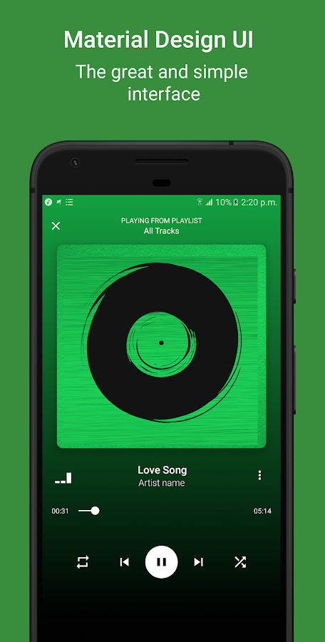 Free Music & Player + Equalizer - MeloCloud- screenshot