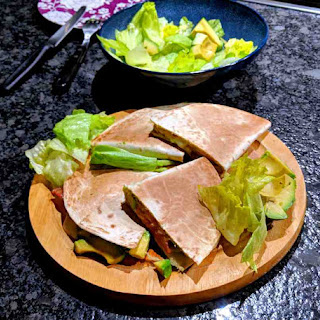 Quesadillas with Mushrooms and Bacon Recipe