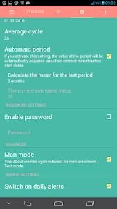Woman calendar screenshot 3