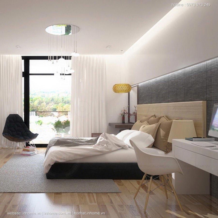 Phòng ngủ tiện nghi cho bạn thư giãn mọi lúc cần thiết