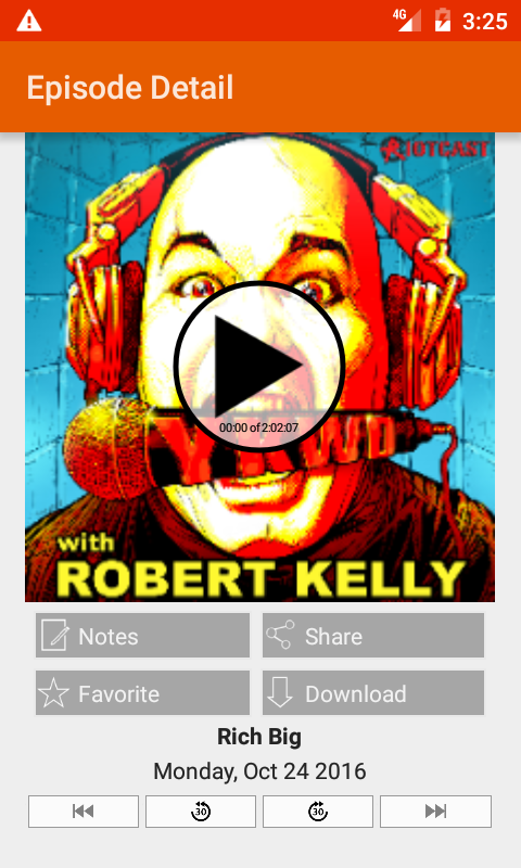 Robert Kelly's YKWD- screenshot