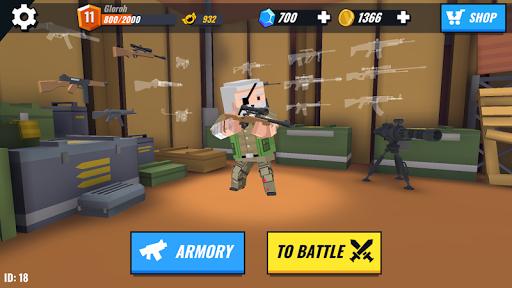 Battle Gun 3D - Pixel Block Fight Online PVP FPS screenshots 7