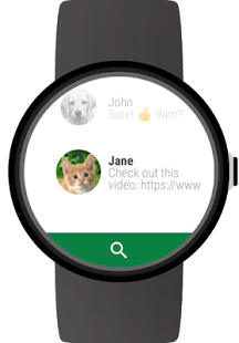 Messages for Wear OS (Android Wear) Screenshot