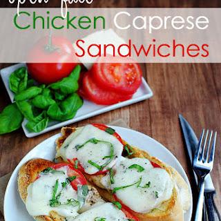Open Face Chicken Sandwich Recipes.