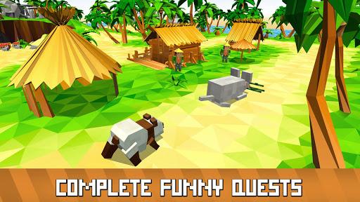 Blocky Panda Simulator - be a bamboo bear! 2.2.4 screenshots 11