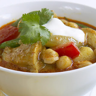 Chicken and Chickpea Curry.