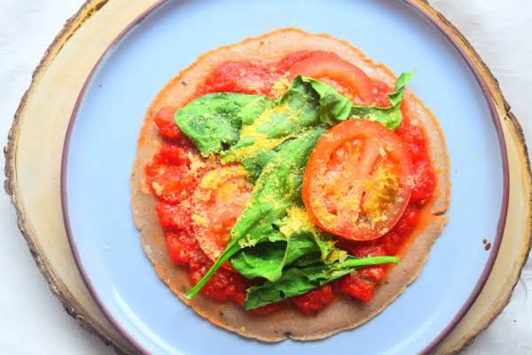 Buckwheat Tortilla Pizza Recipe