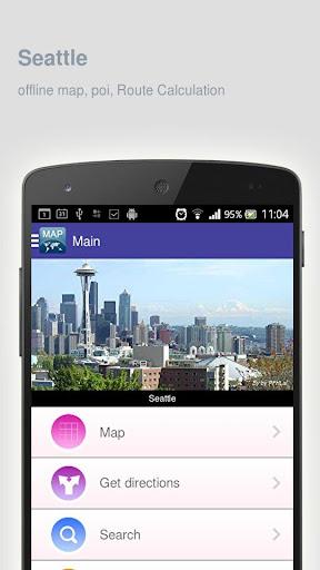 Seattle Map offline