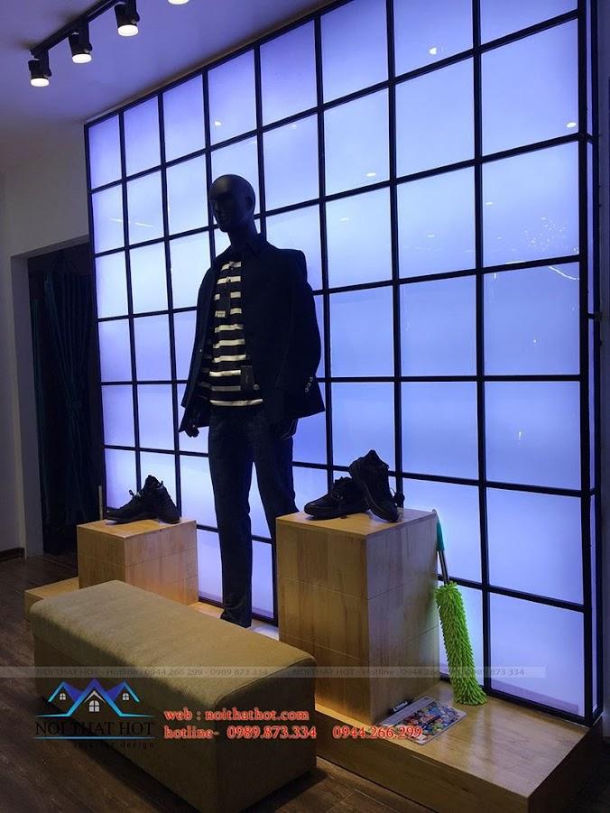 thi công shop thời trang tại hà nội