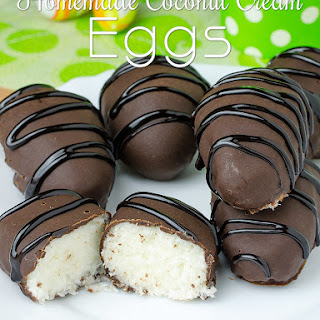 Homemade Coconut Cream Eggs Recipe