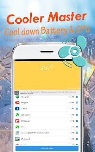 Phone Cooler-battery saver-battery percentage 2018 - náhled