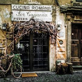 CastelGandolfo by Italo Coletta - City,  Street & Park  Street Scenes