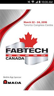 FABTECH Canada 2016 screenshot