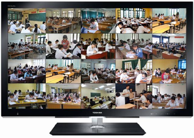 Lắp đặt camera giám sát cho trường học giúp nhà trường quản lý học sinh và giáo viên chặt chẽ hơn