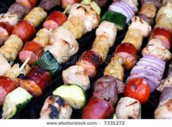 Easy Sausage Kabobs Recipe