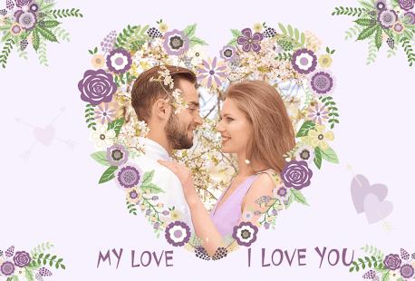 Romantický Fotorámečky Pro Láska Pár Pics - náhled