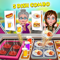 Food Truck Street Kitchen Cooking Games icon