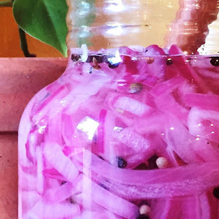 Pickled Purple Onions