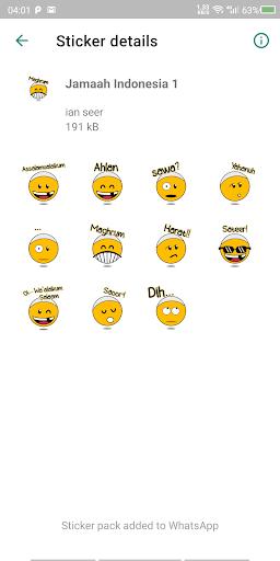 Arabcon - Arabic Stickers screenshot 3