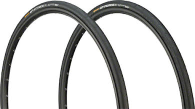 Continental Attack/Force III Front and Rear Tire Combo 700 x 23/25c, Black Chili alternate image 0