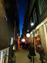Photo: The only picture I took in the infamous Red Light District -- you aren't allowed to take photos of the women in the windows -- and I wouldn't want to, anyway.