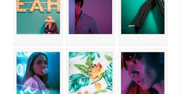 Polaroid Sequence Frame - Facebook template