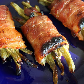 Bacon Wrapped Green Beans!.