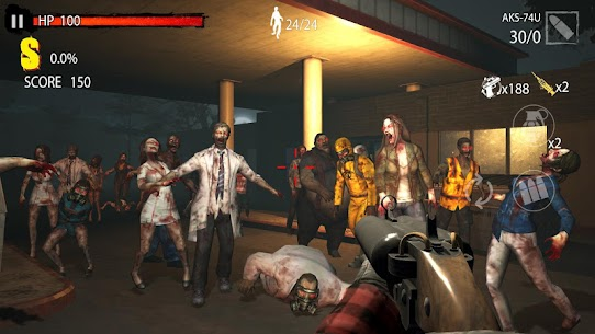 Zombie Hunter D-Day MOD APK 1.0.702 [Unlimited Money + No Ads] 1.0.702 6