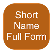 Short name full form