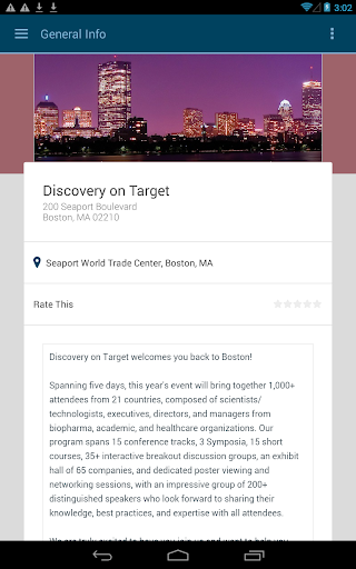 Discovery on Target 2015