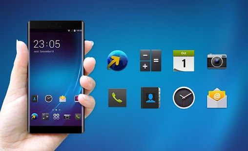 Theme for BlackBerry Z10 HD - náhled